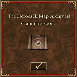 The Heroes III Map Archives - See you soon...